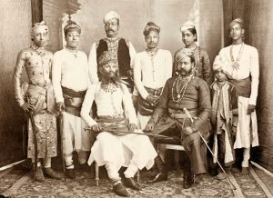 The Maharana of Bundi, 1890