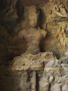 Detail from Elephanta